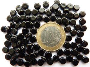 0010013 Zwarte ronde schijfjes.-0