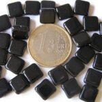 0010037 Zwart vierkant 30 Pc.-0