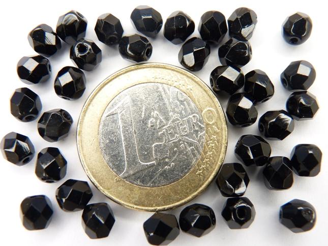 0010444 Zwart facet 5 mm-0