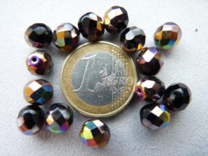 0010475 Zwart facet met Vitex 8mm.-0