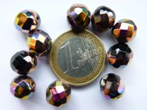 0010476 Zwart facet met Vitex 10mm.-0