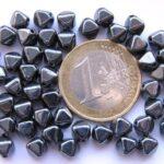 0020077 Hematietkleurige dubbele piramide-0