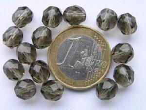 0020218 Black Diamond facet 8 mm. 15 stuks-0