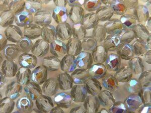 0020225 Black diamond - AB, facet 4 mm.-0