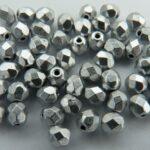0020272 Matt Metallic aluminium facet 4 mm.-0