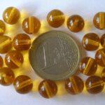 0030029 Topaz round  8 mm 20 Pc.-0