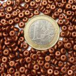 0030074 Silky Bronze schijfje 4 x 2 mm. +/- 150 Pc.-0