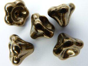 0030101 Brons goudkleurige kelk 5 stuks-0