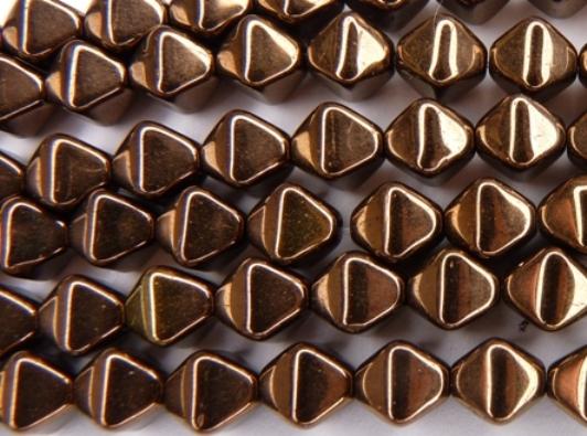 0030100 Koperkleurige dubbele piramide-0