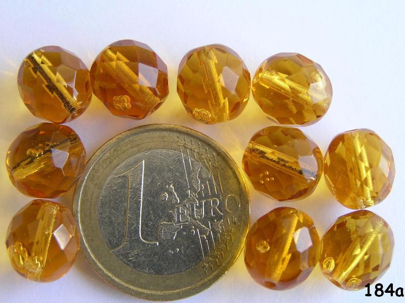 0030215 Topaz facet 10 mm.-0