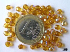 0030216 Topaz facet met AB 4 mm.-0
