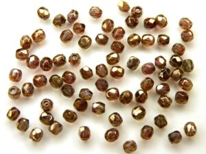 0030291 Crystal Senegal Luster 3 mm. 75 Pc.-0