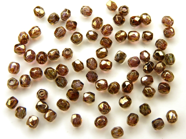 0030291 Crystal Senegal Luster 3 mm. 75 Pc.-0
