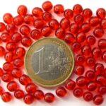 05-R-90080 Light Siam rood rond 5 mm. 80 stuks-0