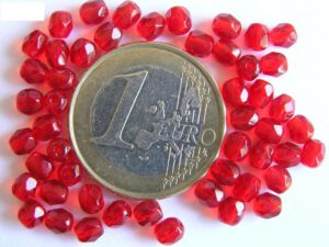 0050206 Siam Ruby (rood) facet geslepen, firepolished 4 mm.-0