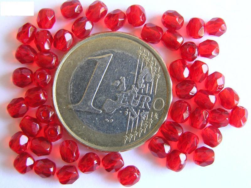 0050206 Siam Ruby (rood) facet geslepen, firepolished 4 mm.-0