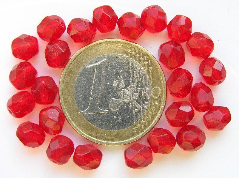 0050216 Siam (rood) facet 6 mm.-0