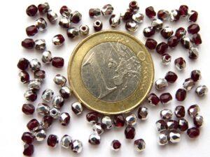 0050235 Garnet Half Labrador facet 3 mm. 65 St.-0