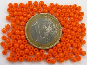 03-R-93130 Opaque Bright Orange Round 3 mm. 150 Pc.-0