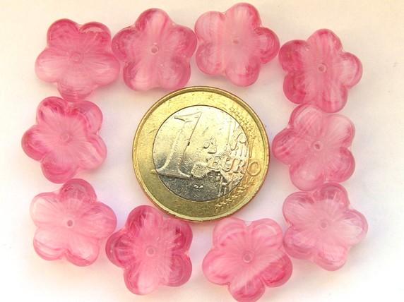 0070063 Roze gemeleerde grotere bloem-0