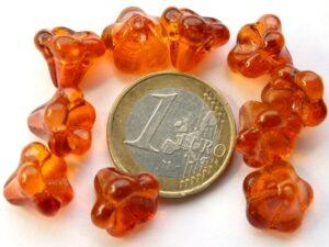 0060021 Oranje Flowercup 10 stuks.-0