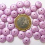 0070066 Satin Lila/Pink glasparel schijfjes.-0