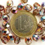 0070303 Crystal Vitex facet, 6 mm.-0