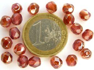 0070363 Pink Opal Apricot facet 6mm. 20 stuks-0