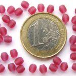 0070410 Matte Fuchsia facet 4 mm. 35 St.-0