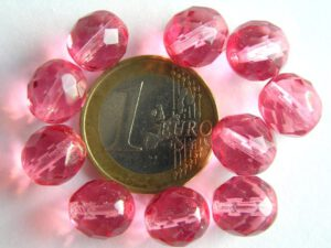 0070414 roze facet 10 mm.-0
