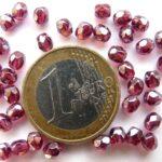 0070422 Fuchsia Luster Facet 4 mm. 30 Pc.-0
