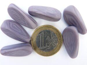 0080240 Iets mat gemeleerd paars,-0