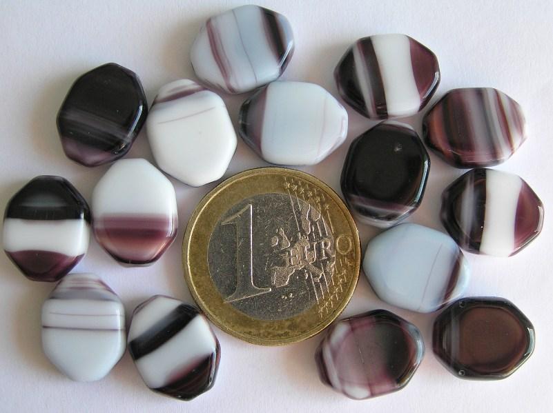 0080257 Wit met paars gemeleerde schijf-0