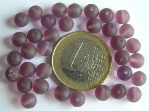 0080272 Mat violet rond 6 mm.-0