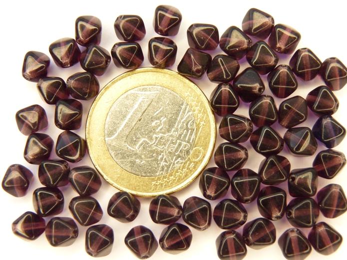 0080304 Deep Violet dubbele piramide-0