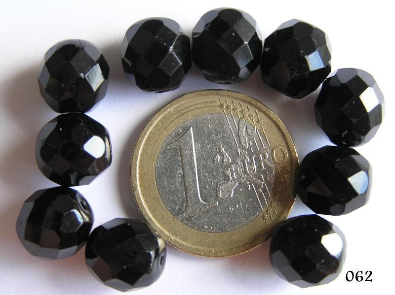 0010406 Zwart facet geslepen 10 mm-0