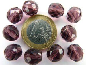 0080534 Amethyst facet 10 mm.-0