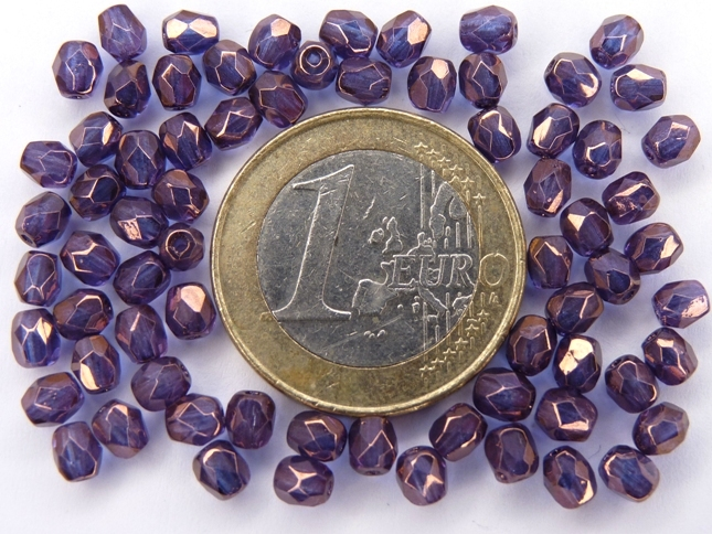 0080555 Paars Violet (Vega) luster 4 mm.-0