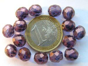 0080557 Paars, Violet ( Vega)luster 8 mm.-0