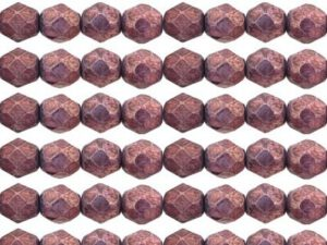 0080635 Luster Metallic Amethyst facet 6 mm. 22 stuks-0