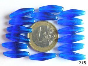 0090014 Blauwe lange dubbele piramide 15 Pc.-0