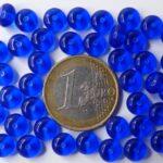0090036 Cobalt Blue dikker schijfje 40 stuks-0