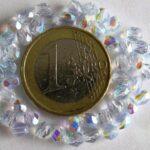 0090125 Light Sapphire facet met AB 4 mm.-0