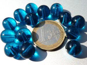 0090198 Aqua round 10 mm. 14 Pc.-0