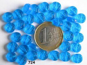 0090208 Aqua/Blauw rond schijfje-0