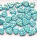 0090230 Opaque Blue Turquoise hematiet glans-0
