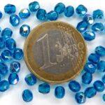0090308 Capri Bue AB facet 4 mm. 50 stuks-0