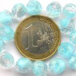 0090348 Crystal met Aqua Opal facet 8 mm.-0