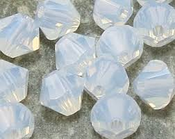 03-MC-01000 Bicone White Opal 3 mm. 50 Pc.-0