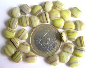 0100109 Groen gemeleerd hartje-0